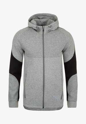 veste en sweat zippée - gray