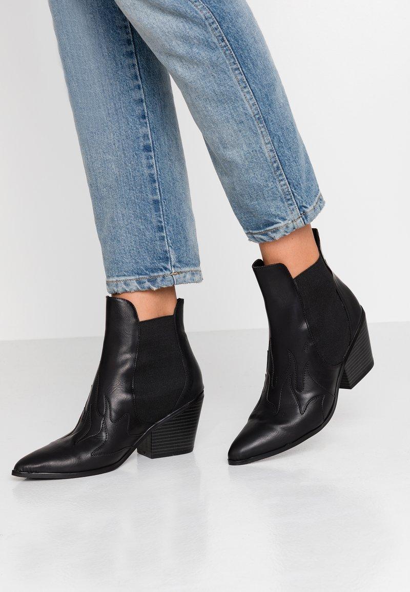 Vero Moda - VMJESS BOOT - Ankle boots - black