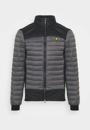 BACK STRETCH QUILTED JACKET - Giacca invernale - rock grey