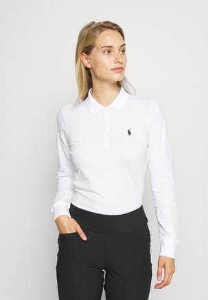 KATE LONG SLEEVE - Poloshirt - pure white