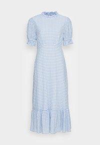 SOLENE DRESS - Maxi dress - blue gingham