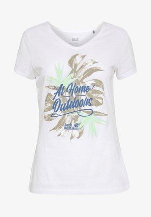 AT HOME  - T-shirt imprimé - white rush