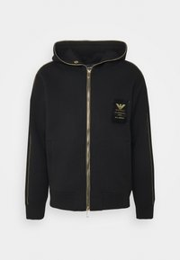 Emporio Armani - Zip-up hoodie - black - 0