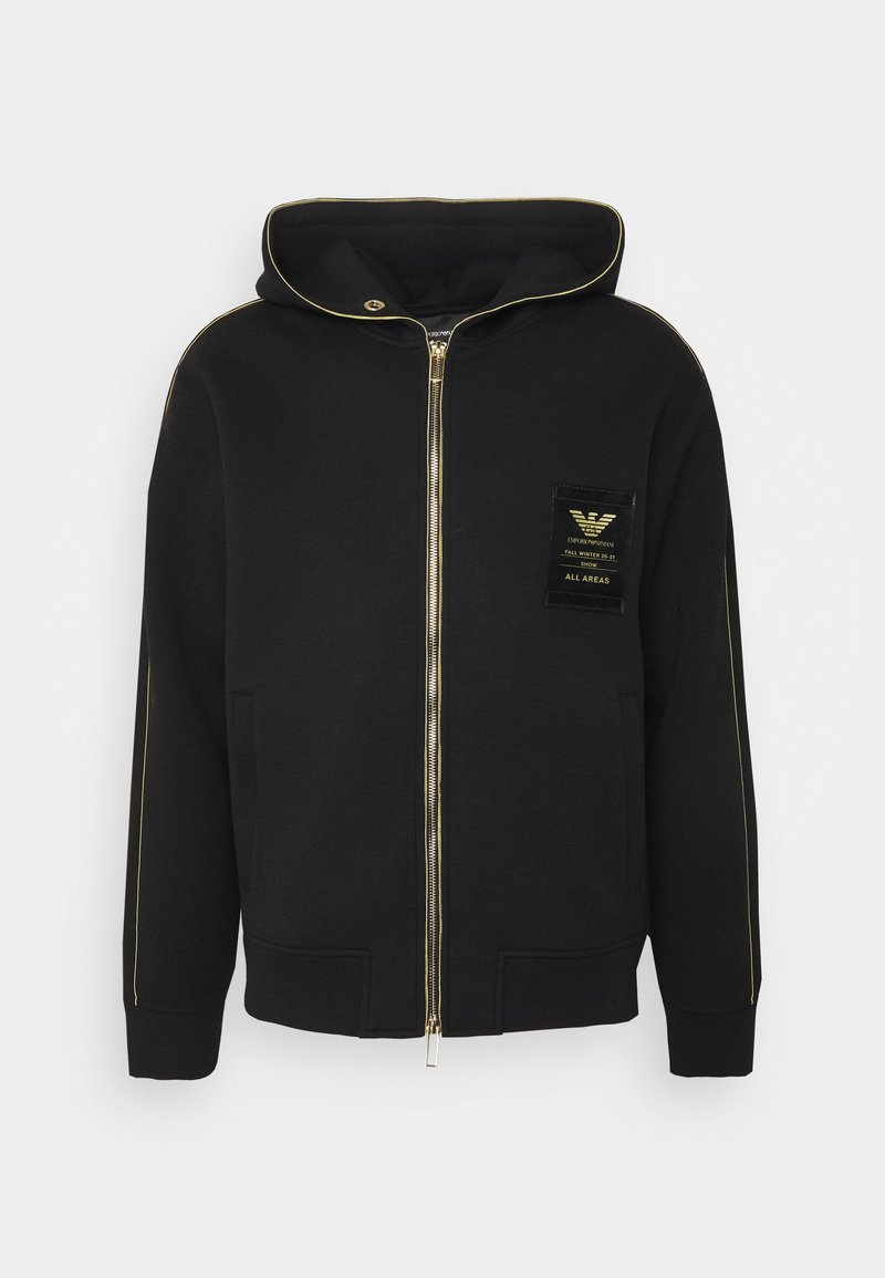 Emporio Armani - Zip-up hoodie - black
