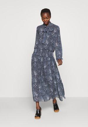 Maxi šaty - blue/white
