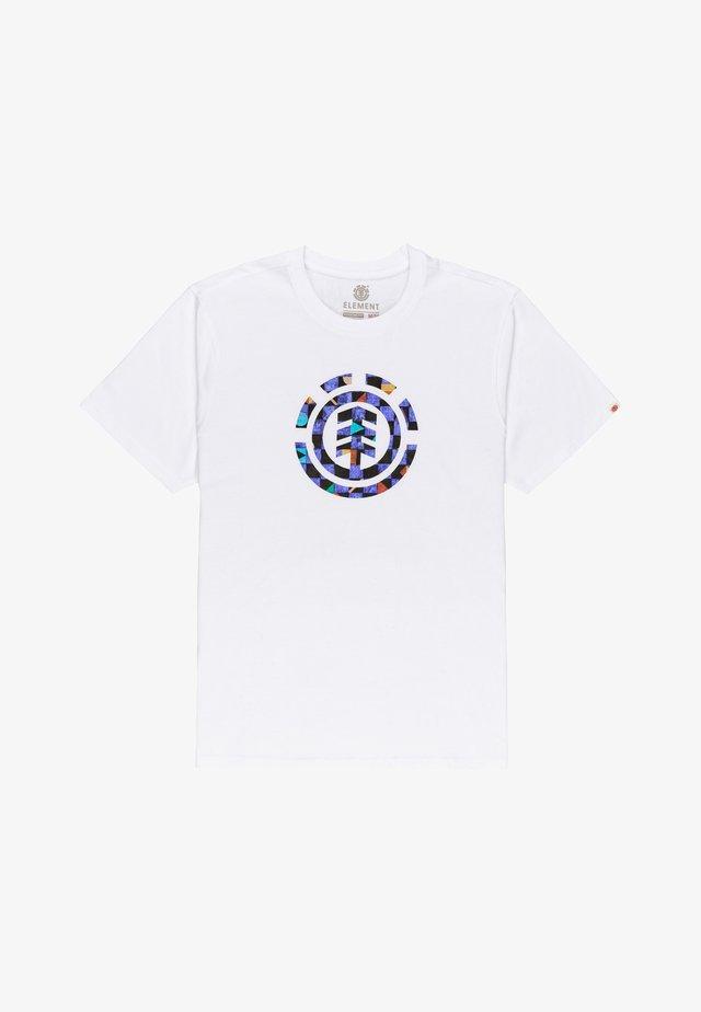 PRISM ICON  - T-shirt con stampa - optic white