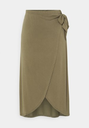COLISSA SKIRT - Pouzdrová sukně - martini olive