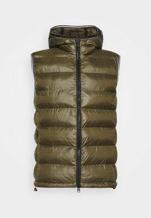 LIAN - Waistcoat - dark green