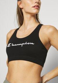 Champion - BRA LEGACY - Sports bra - black - 5