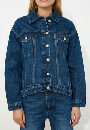Kurtka jeansowa - navy blue