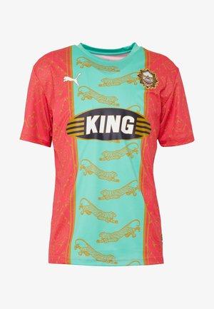 BANGKOK - T-Shirt print - raspberry/mint leaf