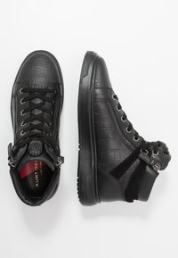 Kurt Geiger London - JACOBS TOP STUD - Sneakersy wysokie - black - 1