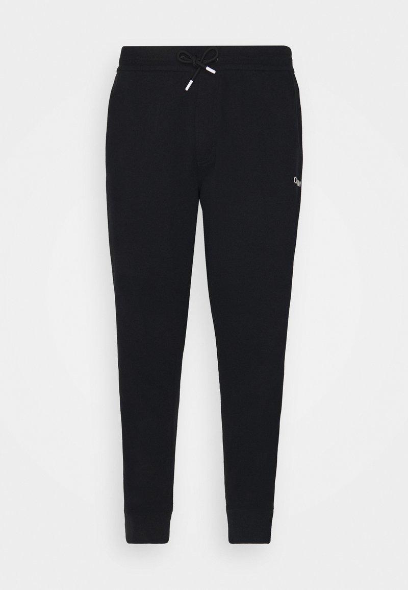 Calvin Klein - ESSENTIAL TAPE PANT - Verryttelyhousut - black
