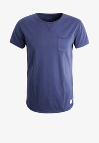 Pier One - Basic T-shirt - navy - 5