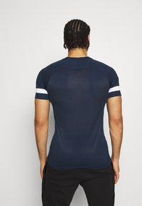 Nike Performance - ACADEMY 21 - Print T-shirt - obsidian/white - 2