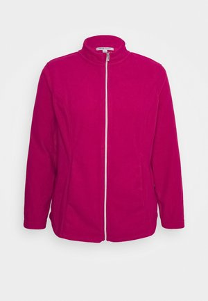 Fleece jacket - rasberry