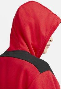 Nike Sportswear - HOODIE - Zip-up sweatshirt - university red black white - 6