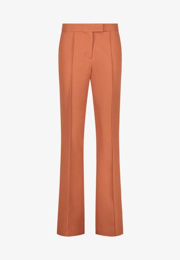 CHANTALLE TWILL VIS 345 - Trousers - toulouse brick