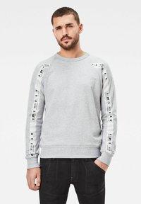 G-Star - RAGLAN TAPING - Sweatshirt - grey heather - 0