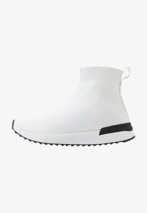 High-top trainers - bianco ottico