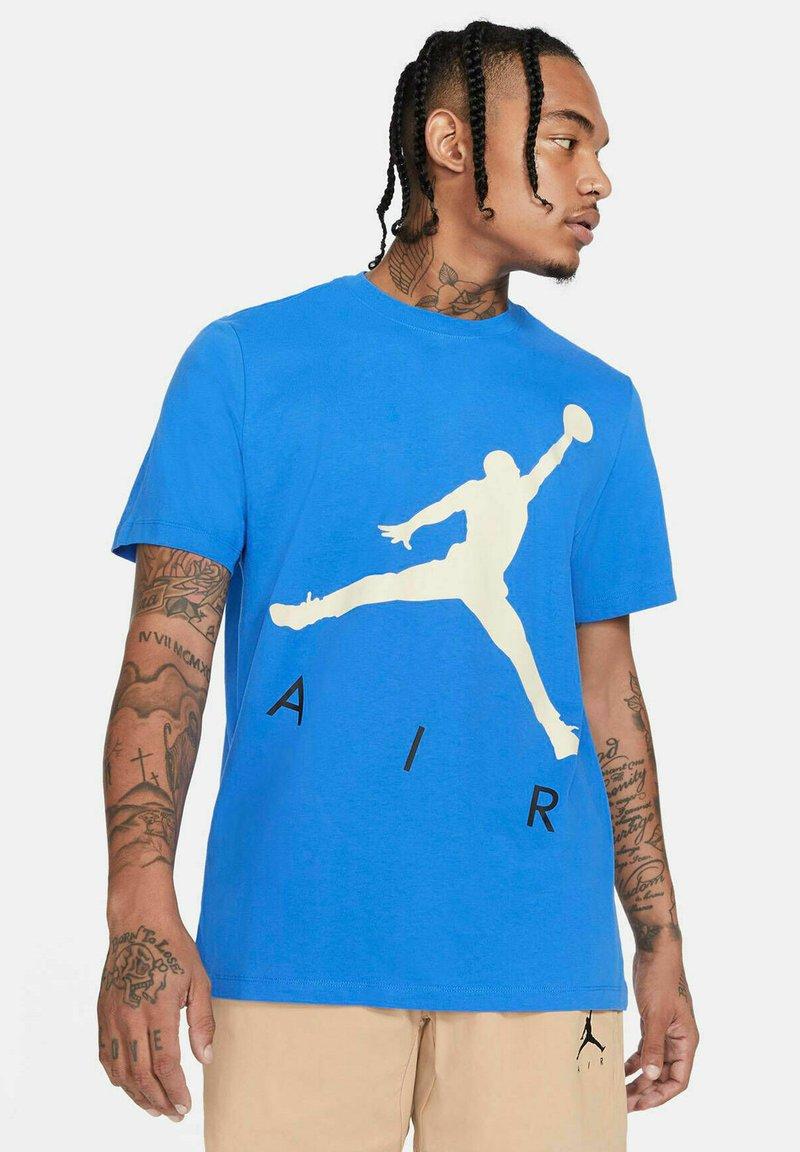 Jordan - JUMPMAN AIR - Print T-shirt - azur