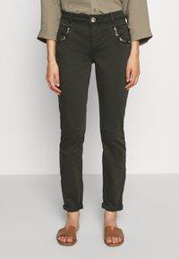 Mos Mosh - JEWEL PANT - Trousers - khaki - 2