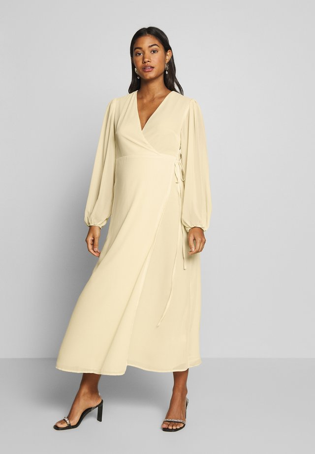 DRESS - Korte jurk - pale yellow