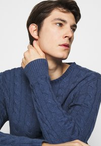 Polo Ralph Lauren - CABLE - Pullover - derby blue heather - 3