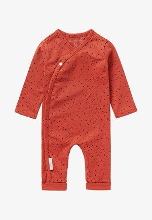 BABY PLAYSUIT NOORVIK - Pyjamas - spicy ginger
