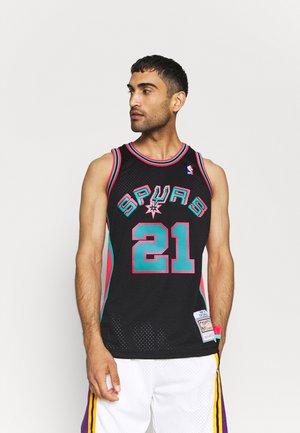 NBA SAN ANTONIE SPURS RELOAD SWINGMAN TIM DUNCAN - Club wear - black