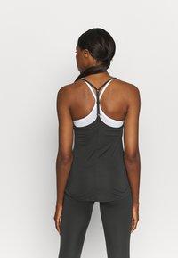 Nike Performance - ONE TANK - Top - black/white - 2