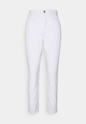RIOT HIGH WAISTED PLAIN  - Straight leg jeans - white