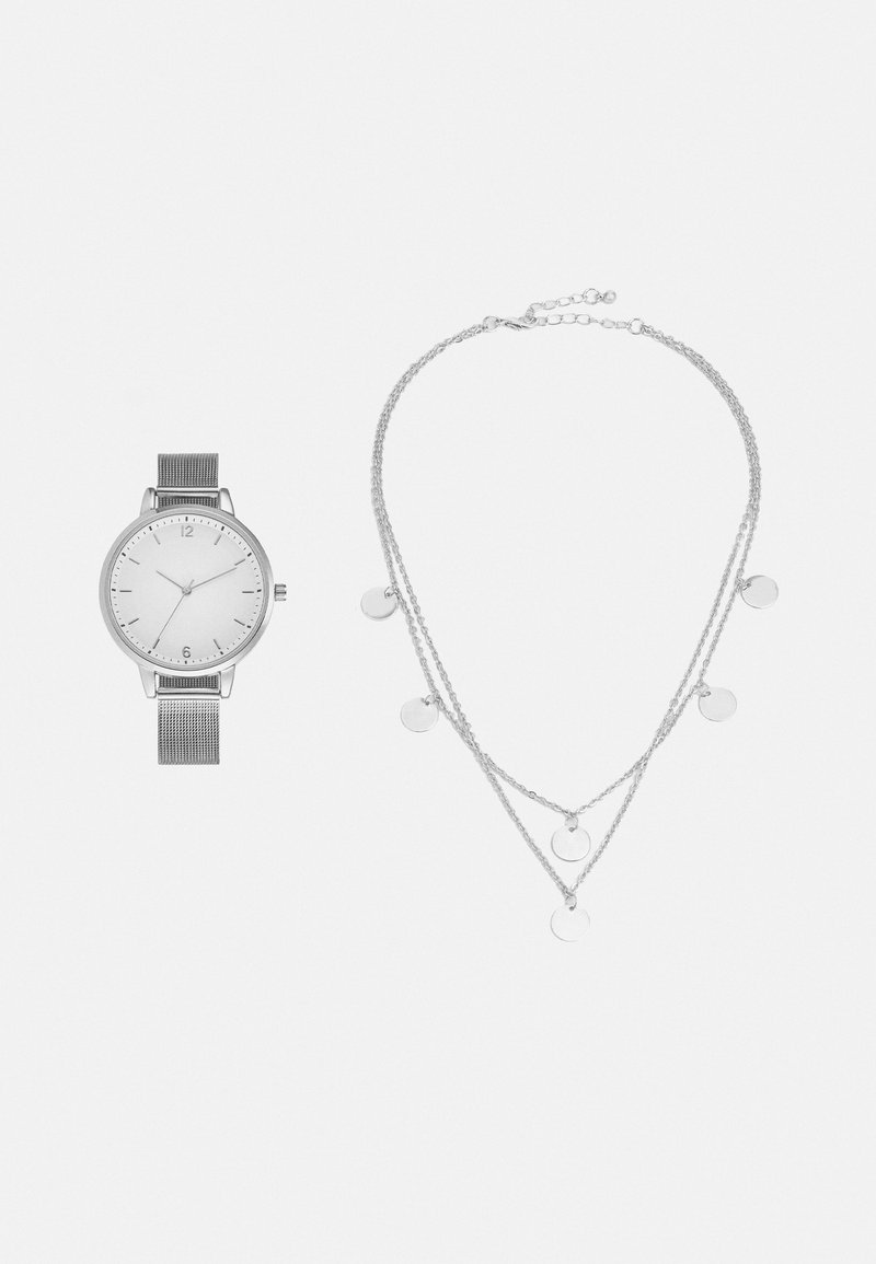 Even&Odd - SET - Horloge - silver-coloured