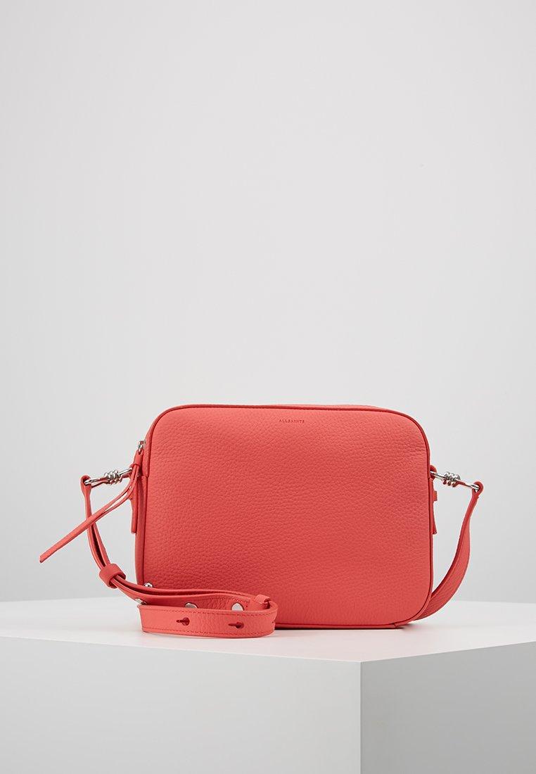 AllSaints - CAPTAIN LEA XBODY - Across body bag - coral pink