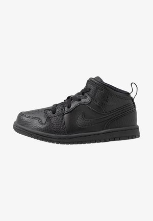 1 MID - Basketball shoes - black