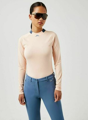 Long sleeved top - pale pink