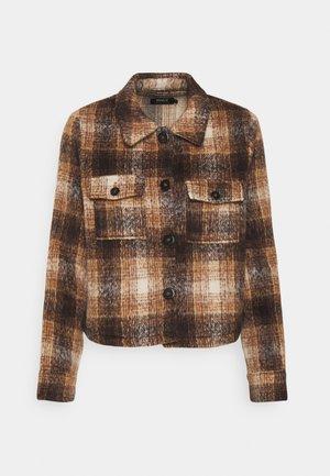 ONLLOU CHECK JACKET - Summer jacket - pumice stone