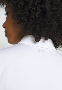 Under Armour - ZINGER SHORT SLEEVE - Funkční triko - white/halo gray - 3