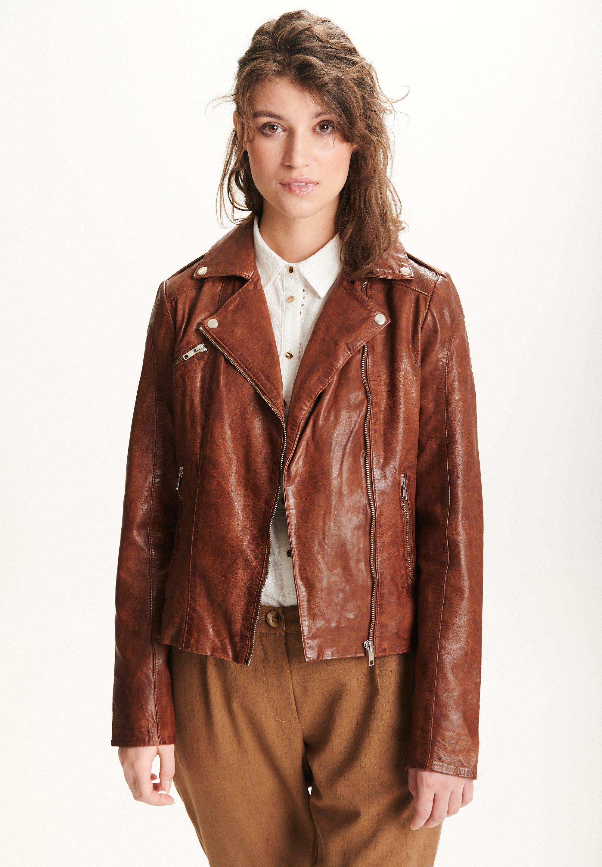 Femme SARA - Veste en cuir