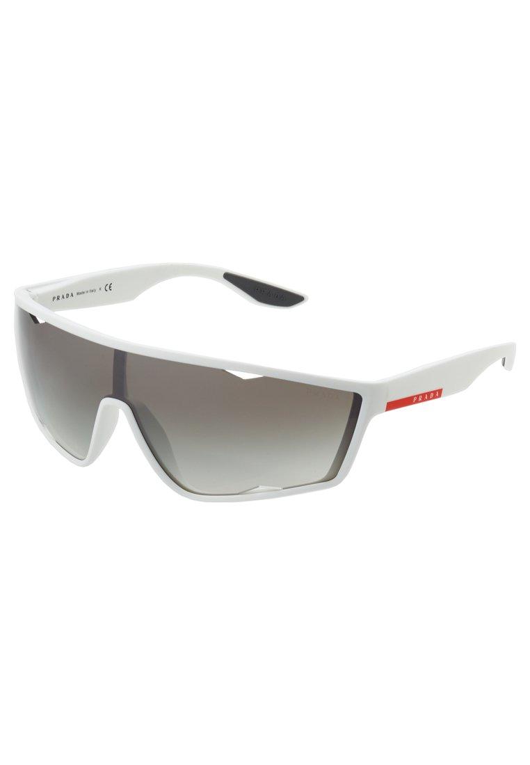 Prada Linea Rossa Solbriller - white rubber/hvit 2lKFYHNsU7xWHP1