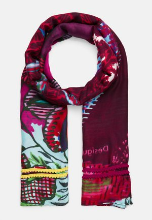 FOUL FLOREST LUMINE - Scarf - red
