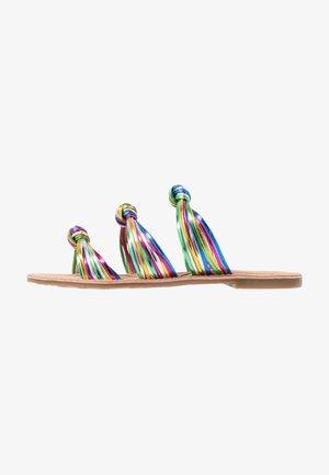 MARCH METS - Ciabattine - multicolor