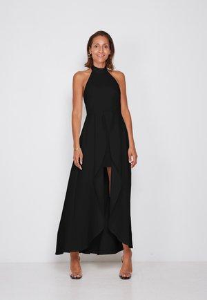 HIGH NECK - Maxi dress - black