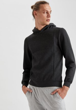 Sweat à capuche - anthracite