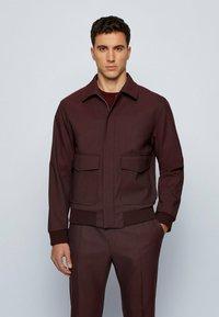 BOSS - Summer jacket - dark red - 0