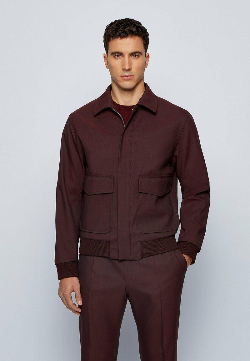 BOSS - Summer jacket - dark red