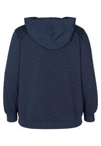 Zizzi - Zip-up hoodie - blue - 2