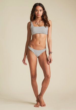 SWEET SIESTA TROPIC - Bikini bottoms - salt crystal