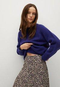 Mango - BOMBAY - A-line skirt - violet clair/pastel - 3