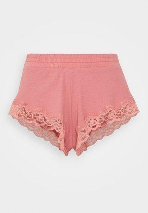 x NA-KD SHORT MIA - Pyjamasbukse - dusty pink
